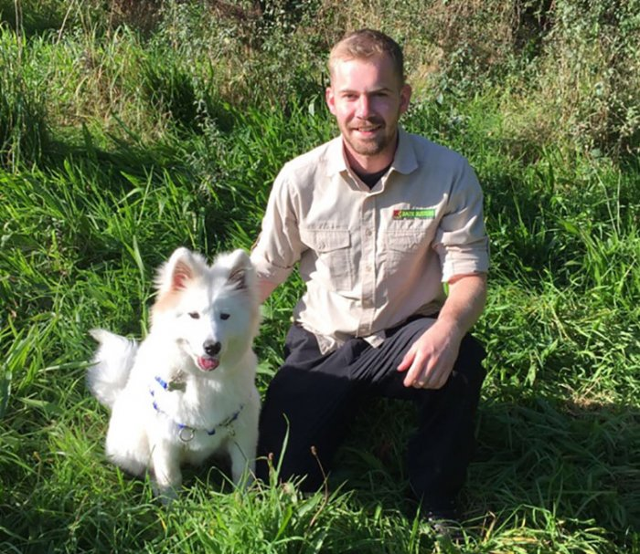 Aaron Noble, Bark Busters Dog Trainer