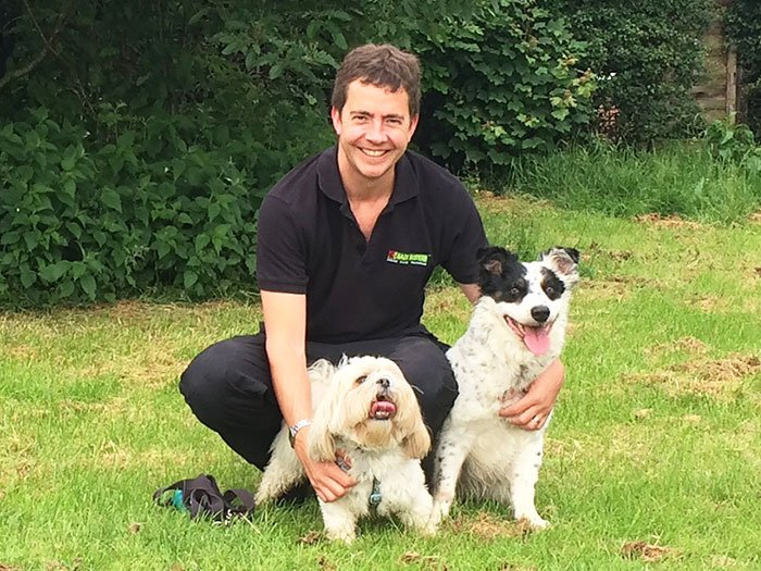 Alex Fraser, Bark Busters Dog Trainer