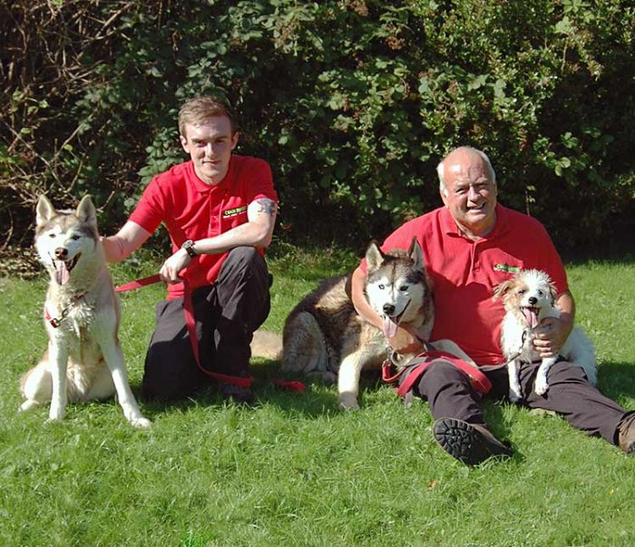 David and Anthony Swindells, Dog Obedience Trainer & Behavioural Therapist for Nottingham