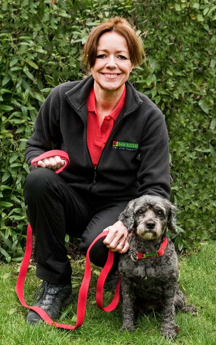 Emma Barrett, Bark Busters Dog Trainer