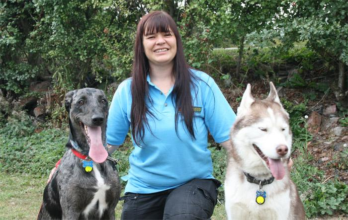 Estelle Jackson, Dog Obedience Trainer & Behavioural Therapist for Chesterfield & Mansfield, Leicester, Sutton Coldfield, Tamworth & Lichfield, Walsall & West Bromwich