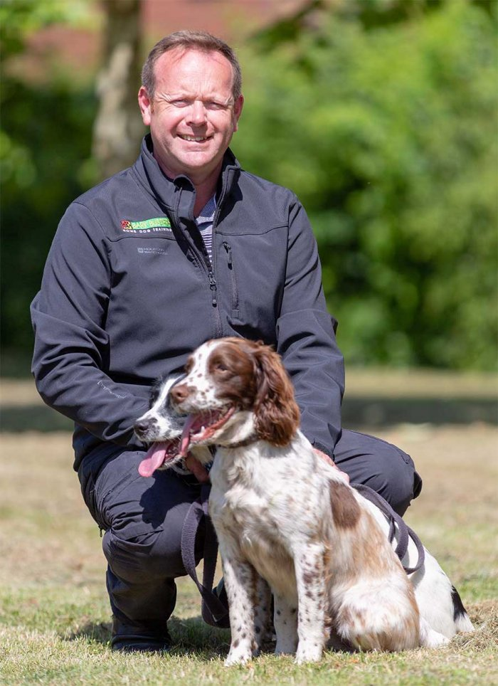 Gavin Chambers, Dog Obedience Trainer & Behavioural Therapist for Bradford, Halifax & Skipton, Doncaster, Barnsley & Rotherham, Leeds, Sheffield, Wakefield & Huddersfield