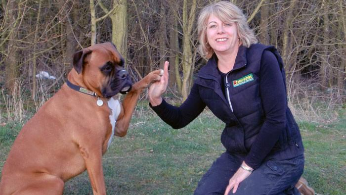 Lynn Prentice, Dog Obedience Trainer & Behavioural Therapist for Bedford & Milton Keynes, Enfield & Barnet, Harlow, Harrow, Uxbridge & Wembley, Luton & Stevenage, North London, Watford & St. Albans