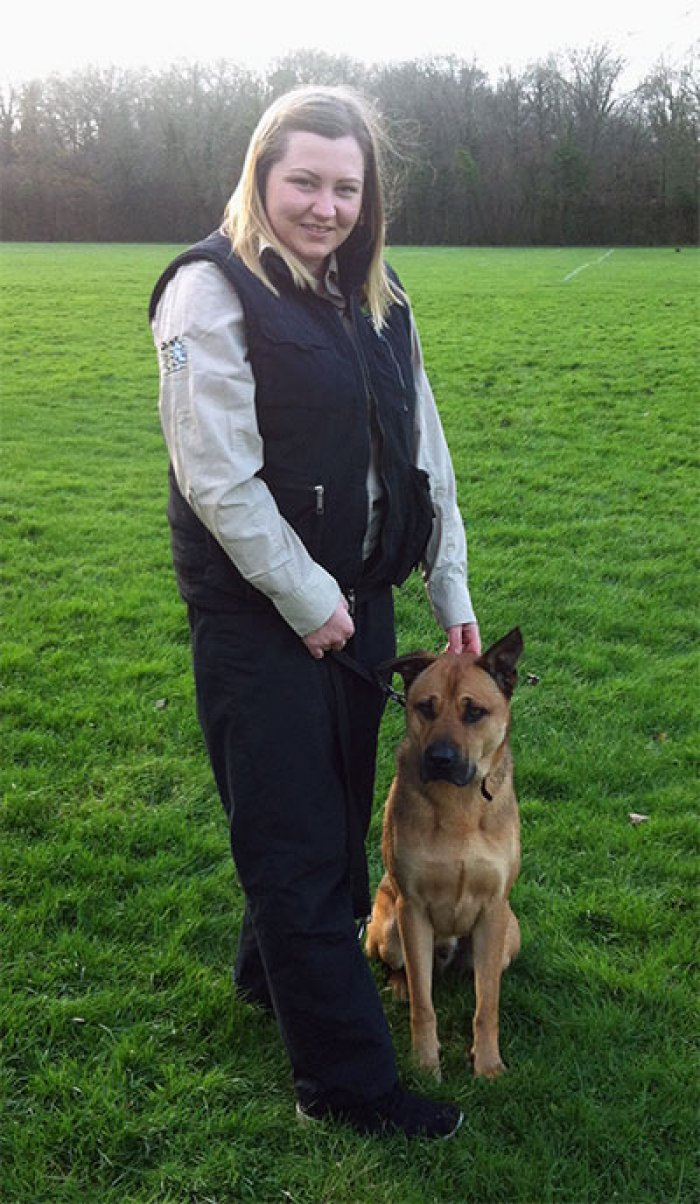 Shauna Hoey, Bark Busters Dog Trainer